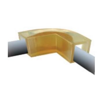 tableau des cotes coin de protection polyuréthane pour élingue rondes ou câble