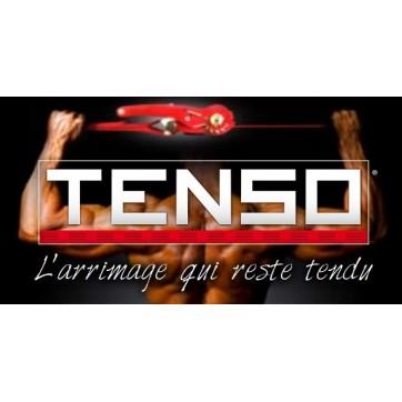 Sangle d'arrimage Tenso avec crochets serrés