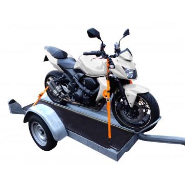 Système d'arrimage moto, quad et jet-ski GORACER