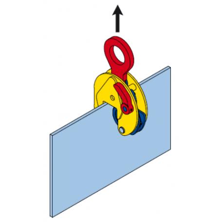 Pinces à tôles Levage vertical TERRIER