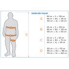 Guide des tailles harnais antichute VIT'O87 NEOFEU