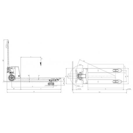Transpalette GS EVO
