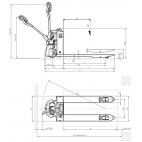 Transpalette électrique EX15L 1500 Kg
