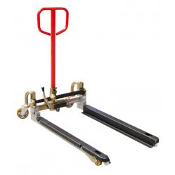 Transpalette à géométrie variable PALBAC fourches 825 mm