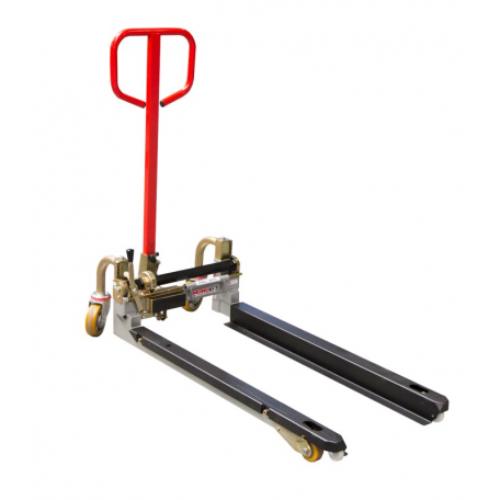 Transpalette à géométrie variable PALBAC fourches 1025 mm