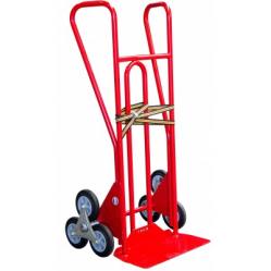 Diable escalier 250 Kg roues étoiles caoutchouc