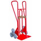Diable escalier 250 Kg roues étoiles gris non tachant