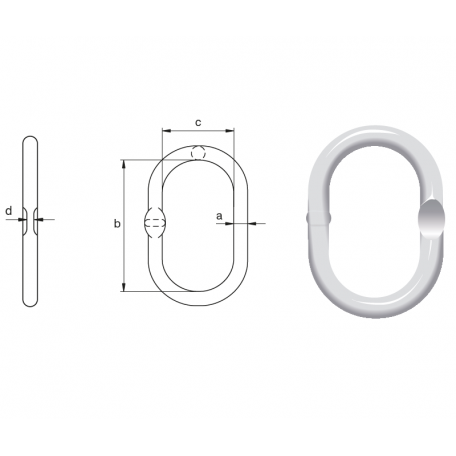 Schéma maille de tête simple MS Green Pin
