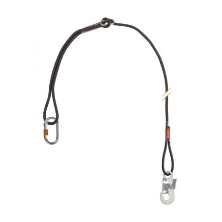 Longe de maintien simple en drisse réglable avec connecteurs