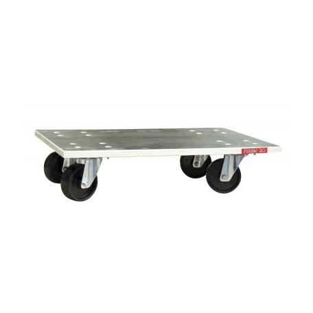 Plateau roulant bois Glissnot roues nylon CU 350 kg