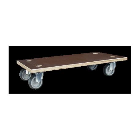 Plateau roulant 150 kg bois Glissnot