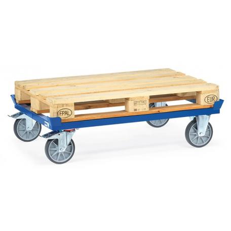 Rouleur pour palettes bois