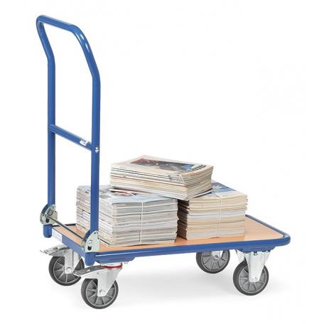 Utilisation du chariot pliable 250 kg Fetra