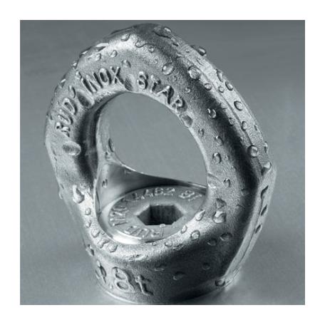 Anneau de levage articulé à œil en acier inoxydable