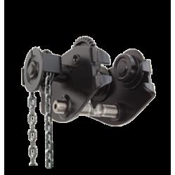 Chariot porte palans manuel à chaîne LEVEX SG 500 à 10000 kg