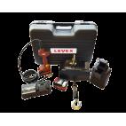 Valise complète palan à chaîne sur batterie DCH LEVEX