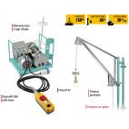 Descriptif élévateur AP 150 - équipement de chantier