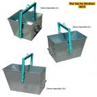 Capacités des bennes Imer pour treuils - accessoires BTP