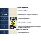 Options disponibles pour TL1000 et TL1500
