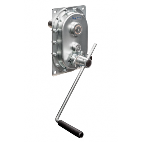Réducteur manuel à engrenages droits manivelle et frein inclus