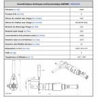 Propriétés techniques AM5000 Gebuwin