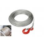 Câble en acier inoxydable avec crochet de 0.3 à 7.5T